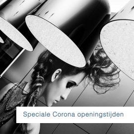 Speciale Corona openingstijden